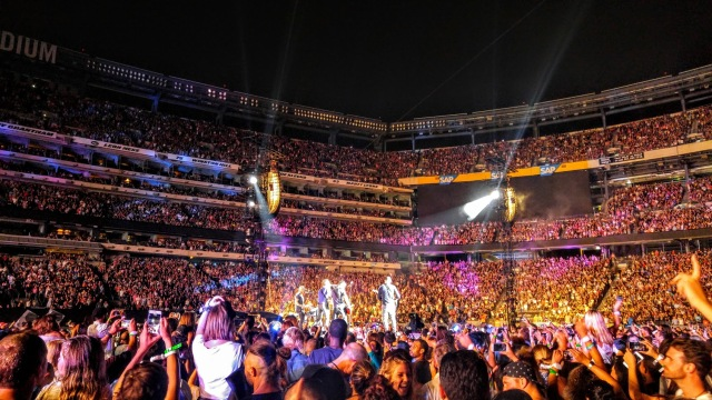 Coldplay at Metlife